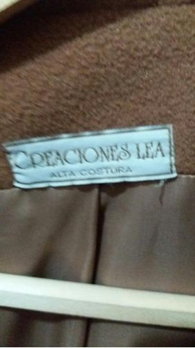 saco tapado paño excelente calidad alta costura