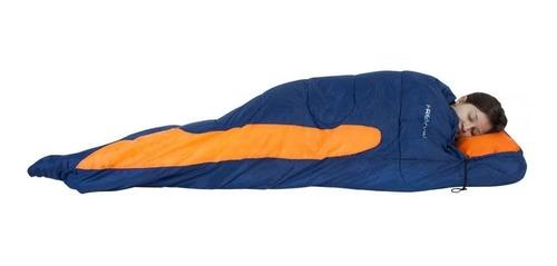 saco térmico de dormir freedom capuz -1,5ºc / -3,5ºc nautika