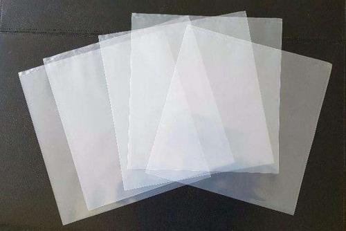 saco vinil lp 400 plásticos-200 externos 0,15 + 200 interno