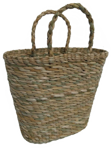 sacola bolsa palha de taboa milho afunilada ref.100 36x17x30