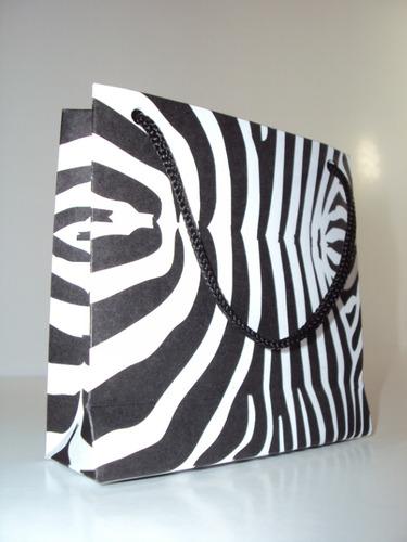 sacola de papel 8 x 8 cm (pct c/ 20 unidades)