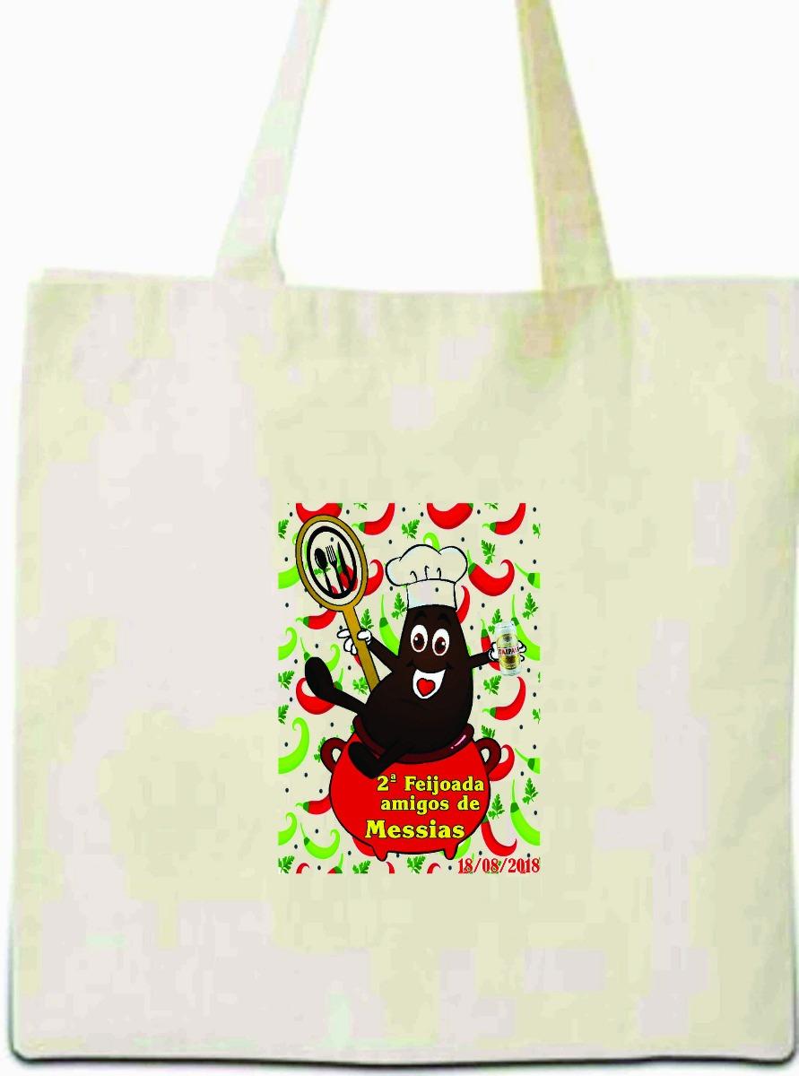 97a5a4746 sacola ecobag de algodão cru 30x40 personalizada kit 100 pçs. Carregando  zoom.
