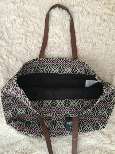 sacola hollister praia feminina importada bolsas escolares