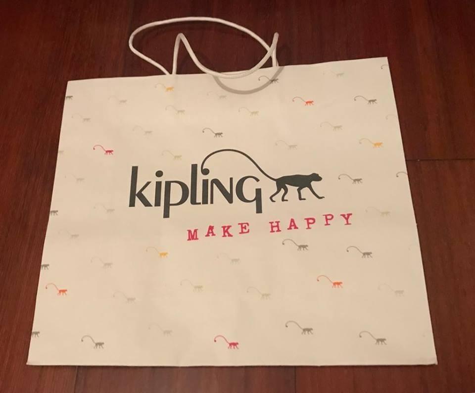 Presente Papel 30 Bolsa Kipling R18 Original Em Ta Sacola hCQBsrtxd