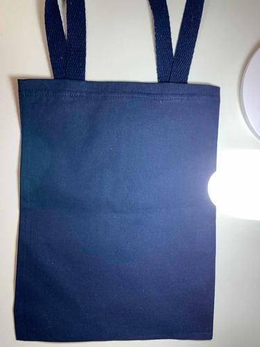 sacola para livros tag
