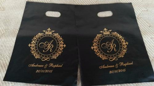 sacola personalizada 20x30 espessura 07 - 500 sacolass