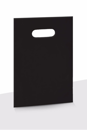sacola plastica alça vazada 30x40 c/500 frete gratis