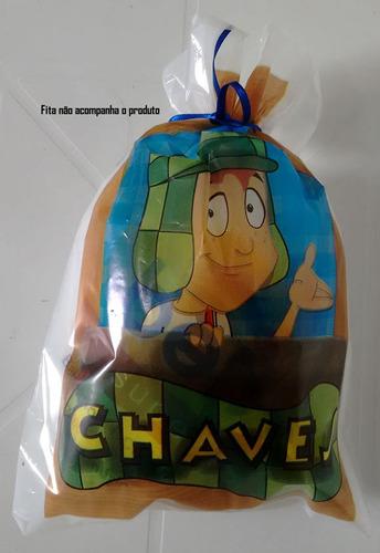 sacola plastica chaves (30 sacolas)