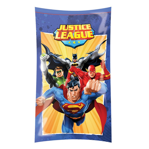 sacola plastica festa liga da justiça