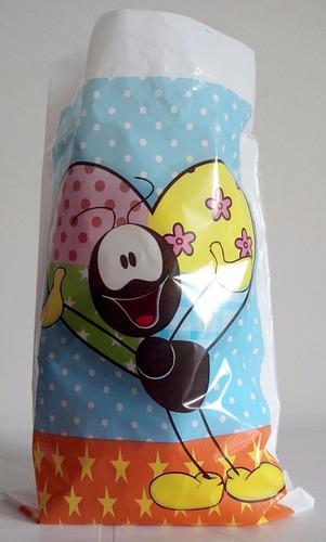 sacola plastica - smiliguido (30 sacolas)