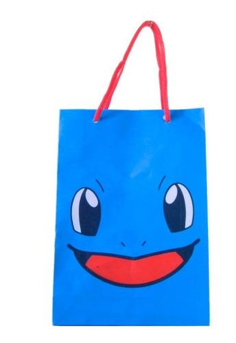 sacola surpresa pikachu pokemon pacote com 10