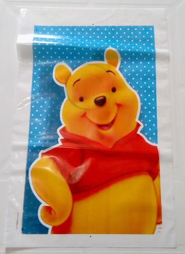 sacola ursinho pooh (10 unidades)