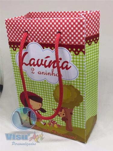 sacolas lembrancinhas personalizadas festas infantil anivers