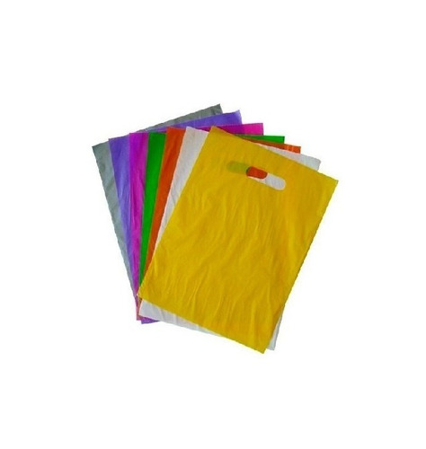 sacolas plasticas 25x35 alça boca de palhaço 1kg/85un.