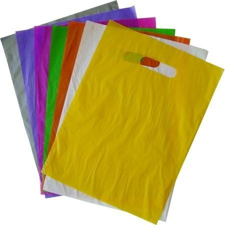 sacolas plasticas 25x35 alça boca triste 100und/1kg