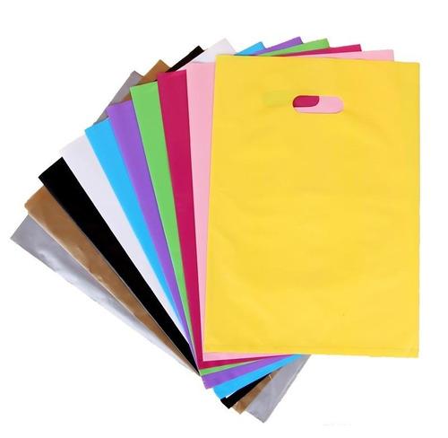 sacolas plasticas 40x50 alta densidade para impressão 250un
