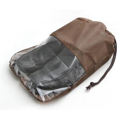 sacolas sacos tnt organizadora de calçados 27x40 com visor