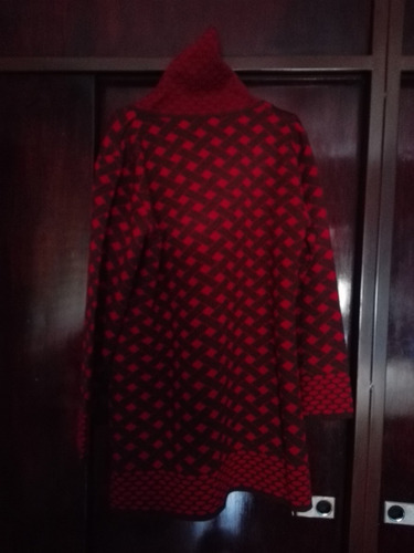 sacon mujer lana fino impecable estado talle 44