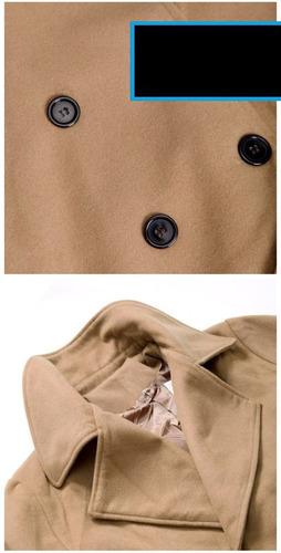 sacos abrigos premium winter coat slim fit moda oriental env