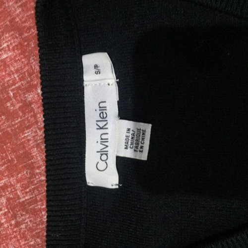 sacos calvin klein talla small 100% original cuello en v