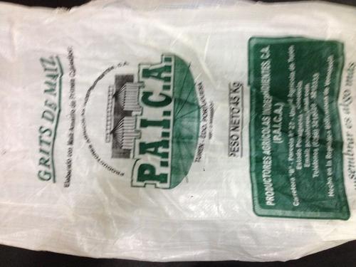 sacos de polipropileno recuperados