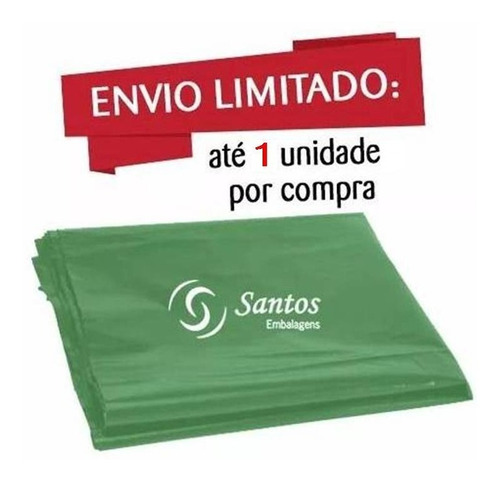 sacos de silagem 60x110 180 micras c/100 verde