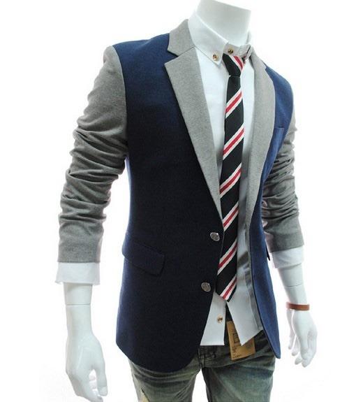 05a93d23a8e5e Sacos Juveniles Hombre Slim Fit Estilo Blazer Moda Casual - U S ...