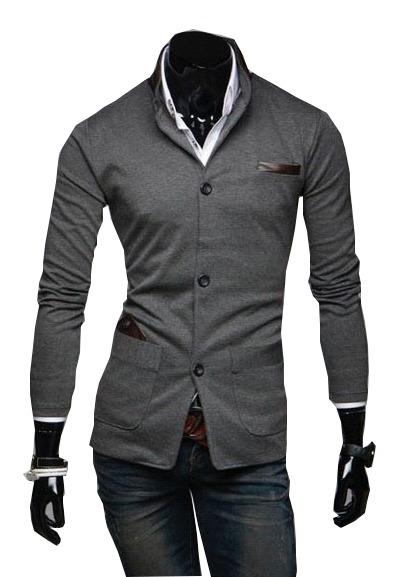 246c176088ed1 Sacos Juveniles Hombre Slim Fit Moda Casual Blazer Informal - U S ...