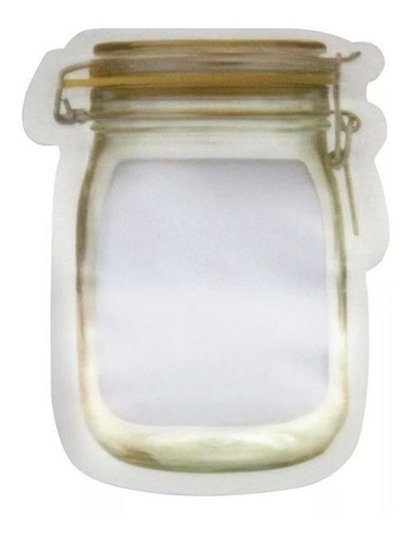 sacos mantimentos zip lock tempero cozinha decorativo 06un.