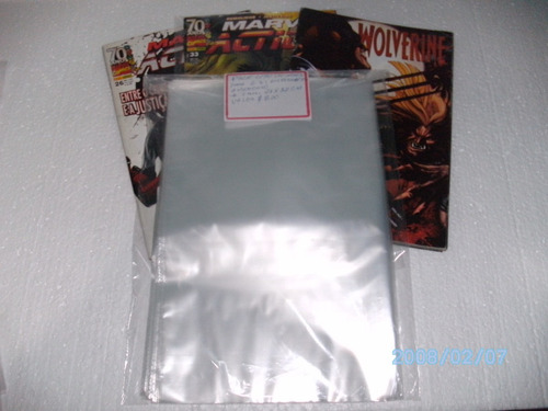 sacos plástico kit c/100 formato americano panini- exclusivo