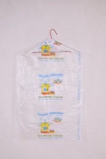 sacos plásticos p/ lavanderia capas calça 50x78 liso 100 un