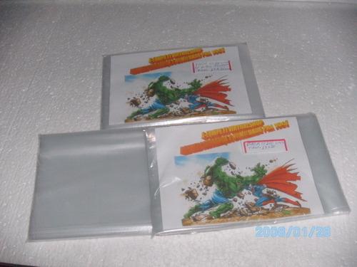 sacos plásticos pp- p/ mangá edição pocket tam.13x20cm