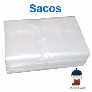 sacos plásticos transparentes pebd todos os tamanhos c/5 kg