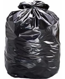 sacos pra lixo de 100 litros (3 kg) - pct c/ 100 un .-preto