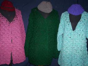 cd520567e Revista Tejidos De Utilisima Crochet - Saquitos, Sweaters y Chalecos ...