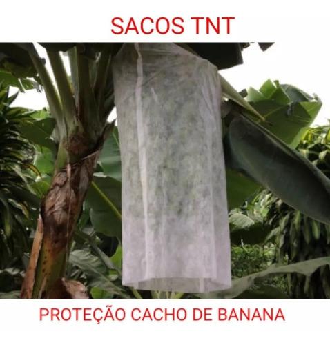 sacos tnt p/ proteção cacho de banana 1,50 x 0,80 cm 100un