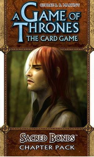 sacred bonds - expansão jogo game of thrones lcg ffg