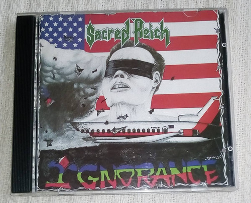 sacred reich - ignorance ( c d ed. u s a)