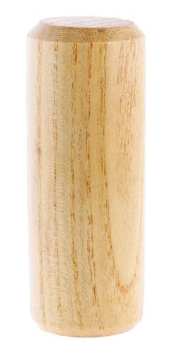 sacudidor de madera ronda arena maraca instrumento