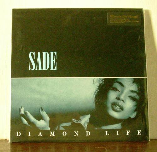sade diamond life(vinilo nuevo sellado)