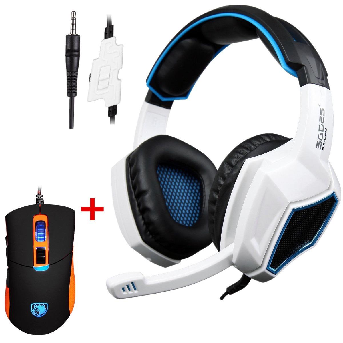 Sades Auriculares Para Juegos Sa 920 Con Mic Para Ps4 Pro