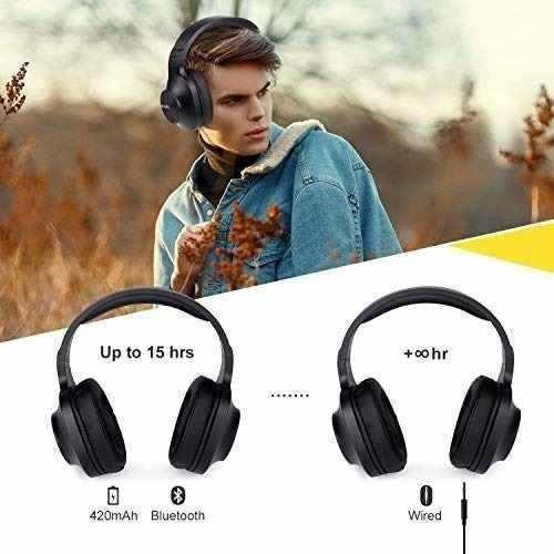 sades d808 - auriculares inalámbricos bluetooth con micrófon