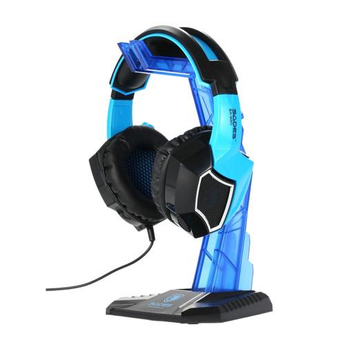 sades gaming headphone suporte fone de ouvido titular profis