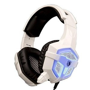 sades sa-738 stereo gaming profesional de auriculares de 3,5