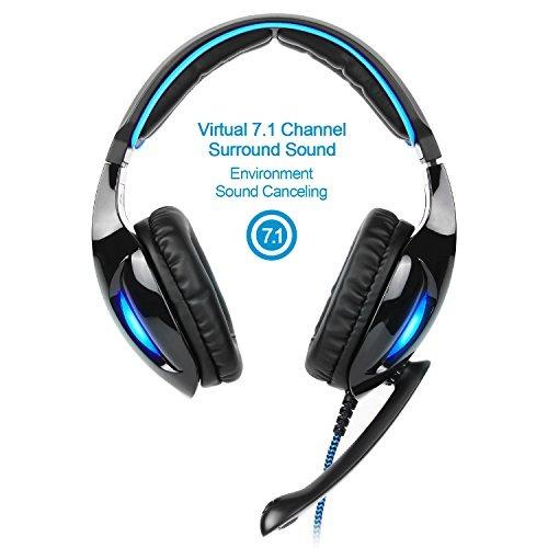 sades sa902 auriculares para juegos de auriculares estéreo