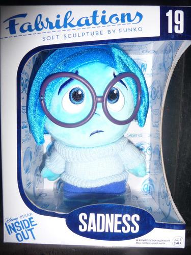 sadness inside out peluche funko fabrikations