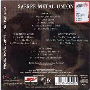 saerpe metal union various 98 black(ex/ex)cd import***