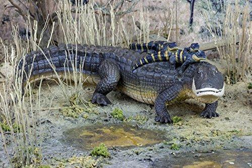 safari ltd increíbles criaturas alligator with babies