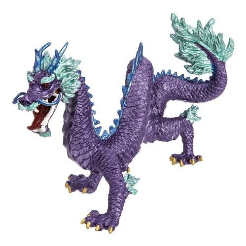 safari ltd. purple chinese dragon
