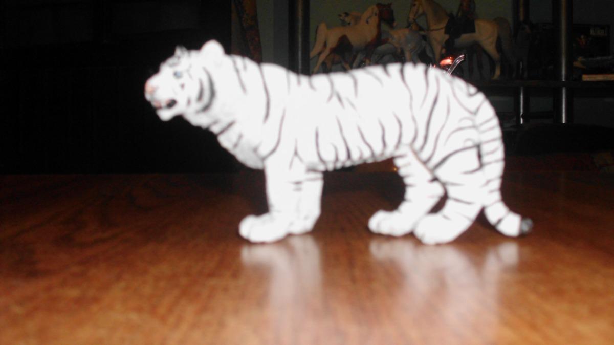 Safari Tigre Blanco En Mercado Libre